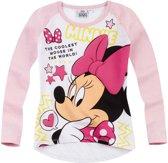 Disney-Minnie-T-shirt-met-lange-mouw-wit-maat-128