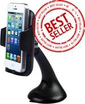 Universele Autohouder - Telefoonhouder - Auto Houder - Telefoon Houder o.a. voor uw iPhone 5 / 5S / 6 / 6S / 6S Plus / 7 / 7 Plus / 8 / 8 Plus / 9 etc , Samsung Galaxy S5 S6 S7 S8 Edge Plus S9 S10, HTC, Nokia, Huawei, LG, Sony etc.