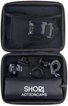 Shop4 - GoPro HERO7 Accessoires Set - Fietsen met Opbergtas