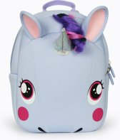 Supercute rugzak peuter kleuter unicorn eenhoorn lavenderblue lavendelblauw pastelblauw zacht verstelbaar