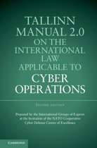 Omslag van 'Tallinn Manual 2.0 on the International Law Applicable to Cyber Operations'
