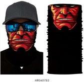 Luxe Biker Mask - Fietsmasker - Motormasker - Balaclava - Gezichtsmasker - Bivakmuts - Hell