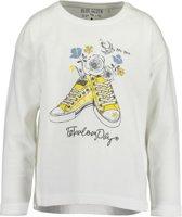 Blue Seven Meisjes Shirt Wit - Maat 98