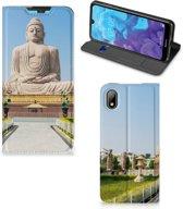 Huawei Y5 (2019) Book Cover Boeddha