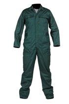 Storvik Werkoverall 65% polyester 35% katoen Heren Groen - Maat 52 - Thomas