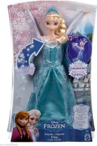 Disney Frozen-Royal-Color-Elsa-Doll-blauw - Maat One-size