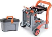 Smoby - Black&Decker - Mobiele trolley & Toolbox