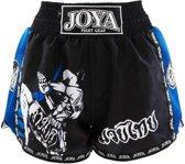 Kickboksshort Fighter Junior Blauw-XS
