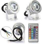 10 watt LED spot light RGB outdoor