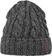 Barts Twister Turnup Beanie - Muts - One Size - Black