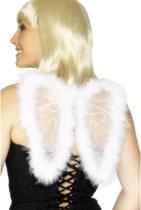 Kleine engel vleugels met mariboe dons   Engelen vleugeltjes met veren