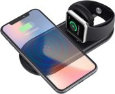 2 in 1 Docking Station Oplaadstation voor Apple iPhone en Apple Watch - Draadloze Qi Oplader van Fred's