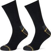 6-Pack Allround Sokken met Frescure Stapp Yellow - Allround 4410.499 - Marine - Unisex - Maat 43-46