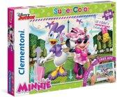 Clementoni - Disney Minnie Mouse & Katrien Duck - Super Color Puzzel - 104 Stukjes