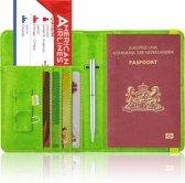 Paspoorthoesje / Paspoorthouder - V2 - Groen