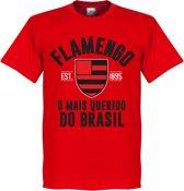 Flamengo Established T-Shirt - Rood - XXL