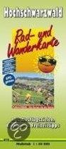 Rad- und Wanderkarte Hochschwarzwald 1 : 50 000
