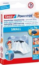 Tesa Powerstrips Dubbelzijdige Kleefstrips Small - 14 Stuks