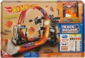 Hot Wheels Track Builder Bouw & Crash Set - Racebaan