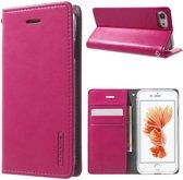 GSMWise - Apple iPhone 7 / 8 - Portemonnee Hoesje PU Lederen Case - Roze