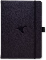 Dingbats A5+ Wildlife Black Duck Notebook - Dotted