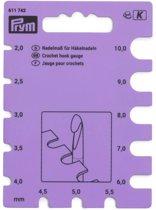 Prym haaknaaldenmeter paars
