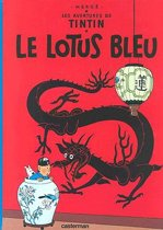 Kuifje Franstalig Lotus bleu