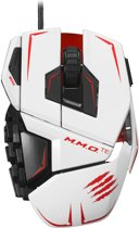 Madcatz M.M.O. TE Gaming Muis - Wit (PC)