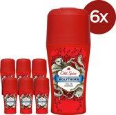 Old Spice Wolfthorn Roller - Voordeelverpakking 6x50ml - Deodorant