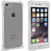 Hoesje voor Apple iPhone 7/8 Transparant Siliconen Shock Proof - TPU Case met verstevigde randen