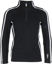 Falcon Jenita Wintersportpully - Maat 140  - Meisjes - zwart/wit