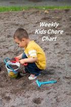 Weekly Kids Chore Chart: Kids Responsibility Tracker