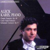 Chopin: Fantaisie;  Carter, Schumann / Aleck Karis
