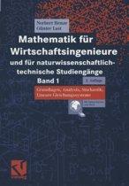 Mathematik F r Wirtschaftsingenieure Und F r Naturwissenschaftlich-Technische Studieng nge