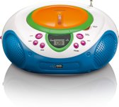 Lenco SCD-40 USB kids - Portable FM radio met CD