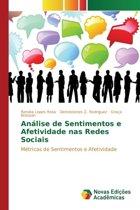 Analise de Sentimentos E Afetividade NAS Redes Sociais