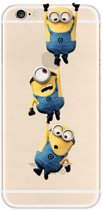 Despicable me | Minions | iPhone 6 6s | Transparant TPU Hoesje | Hangend
