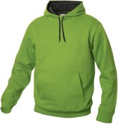 Carmel hooded sweat 280 g/m2 lichtgroen m