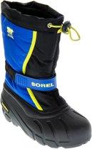 Sorel - Snowboots - Jongens & Meisjes - Blauw/Zwart/Groen - Maat 33