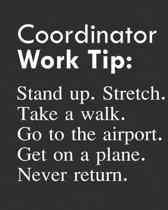 Coordinator Work Tip
