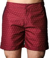 Sanwin Zwemshort Tampa Dots Red - Rood - Maat 34 - 34