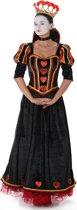 Hartenkoningin kostuum voor dames  - Verkleedkleding - Small