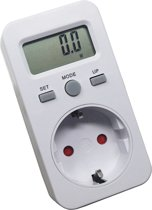 Digitale Wattmeter met LCD-scherm AC 230V 16A 3680W