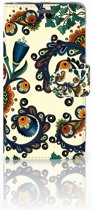 Wiko Rainbow Jam Boekhoesje Design Barok Flower