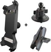 Getnord Lynx houder - draadloze oplader -  RAM mount - robuuste smartphone - kit voor auto