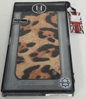 Uunique Hard Case Slimline Jaguar Brown voor Apple iPhone 5/5S