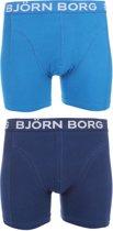 Björn Borg Boxers IV 2-pack Heren - Blauw - S