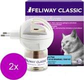 Feliway Anti-Stress Verdamper Kat - Anti stressmiddel - 2 x 48 ml 1 Maand