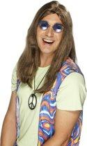 """""""Hippiepruik voor volwassenen. - Verkleedpruik - One size"""""""