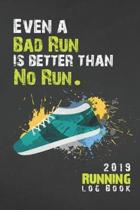 2019 Running Log Book